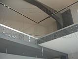 Стеклянные перила (перила из стекла) для лестниц, балконов, террас, фото 2