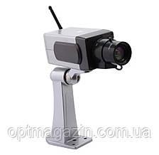 Муляж камеры видеонаблюдения WIRELESS с движением