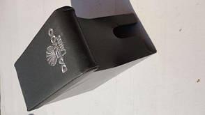 Підлокітник Daewoo Lanos (Бар) сірий з вишивкою економ