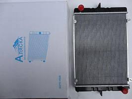 Радіатор охолодження ГАЗ 3302 (алюмінієвий) старий зразок (B-GZ001) з вухами Аляска