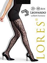 """Капронки Lores """"Leopardo"""" 20-40 ден - XS/S (1/2размер) на рост 152-164см, на бедра 96-112см, Италия"""