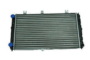 Радіатор охолодження ВАЗ 2170 (алюмінієвий) (M-LA019) Аляска