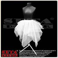 Белая юбка Снежная королева размер 42-46, из фатина