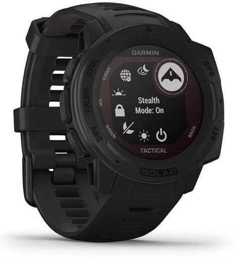 Смарт-годинник Garmin Instinct Solar – Tactical Edition Black