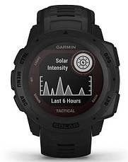 Смарт-годинник Garmin Instinct Solar – Tactical Edition Black, фото 2
