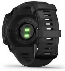 Смарт-годинник Garmin Instinct Solar – Tactical Edition Black, фото 3