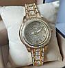 Жіночі годинники Michael Kors (Майкл Корс) золоті зі світлим екраном