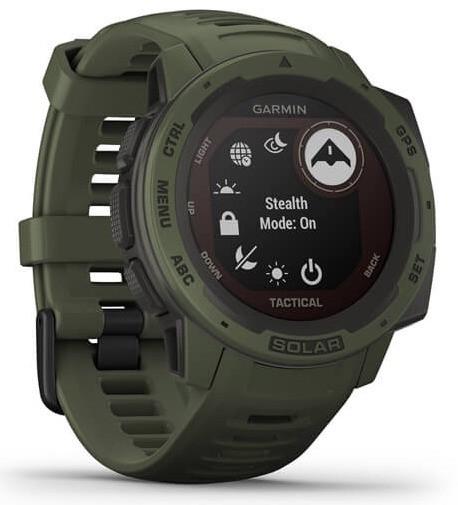 Смарт-годинник Garmin Instinct Solar – Tactical Edition Moss
