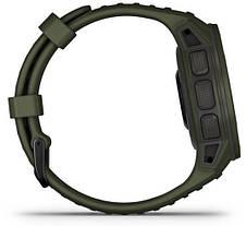 Смарт-годинник Garmin Instinct Solar – Tactical Edition Moss, фото 3