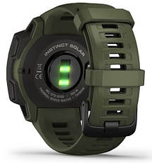 Смарт-годинник Garmin Instinct Solar – Tactical Edition Moss, фото 2