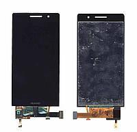 Матрица с тачскрином модуль для Huawei Ascend P6 черный