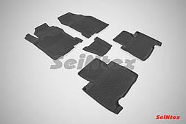 Коврики в салон Seintex резиновые Lexus NX 2014-2020 (кт 5 шт.)