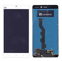 Матрица с тачскрином модуль для Xiaomi Mi Note белый