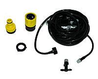 Система полива туман Patio Mist Cooling kit 9.6 м, туманообразователь для теплиц (полив) набор для орошения