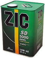 Масло моторное ZIC X5000 (ранее было SD 5000) 15W-40 6л