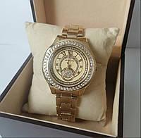 Жіночі годинники Michael Kors золоті з золотим екраном, фото 1