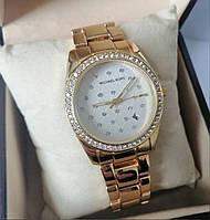 Жіночі годинники Michael Kors з білим екраном, фото 1