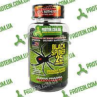 1 ОДНА Капсула Поштучно Жиросжигатель USA ORIGINAL!!! Cloma Pharma CPh Black Spider 25 ephedra