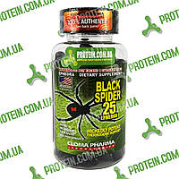 Жиросжигатель USA ORIGINAL!!! Cloma Pharma CPh Black Spider 25 ephedra 100 капс