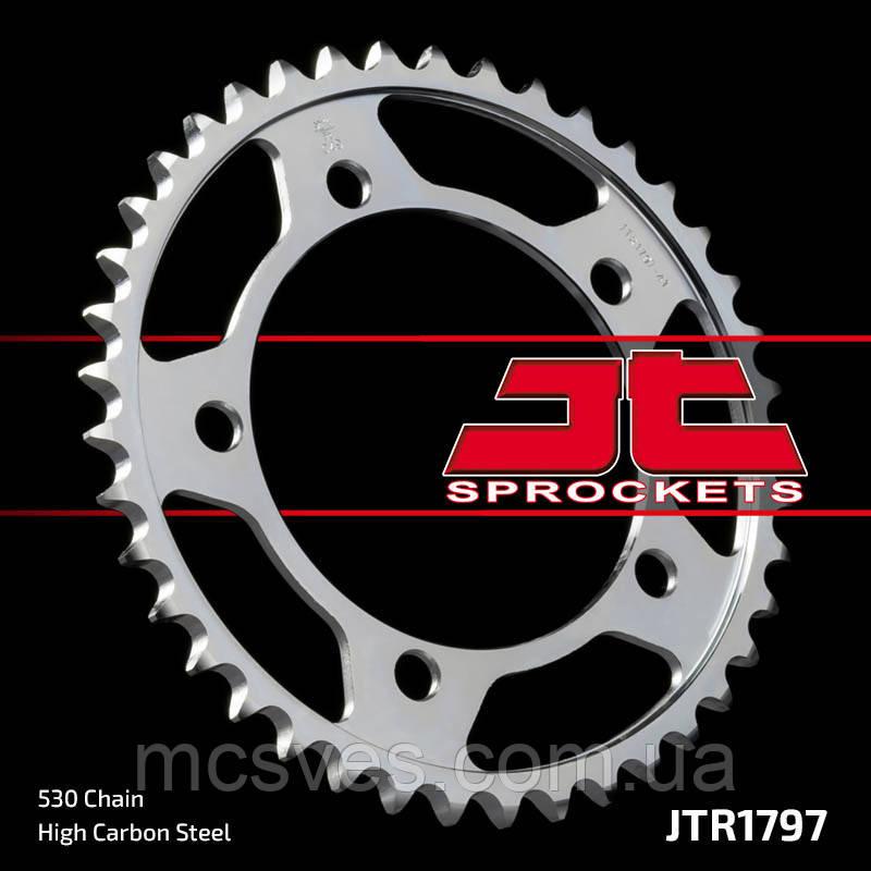 Звезда задняя стальная  JT JTR1797.41 JT Sprockets