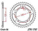 Звезда задняя стальная  JT JTR1797.41 JT Sprockets, фото 2