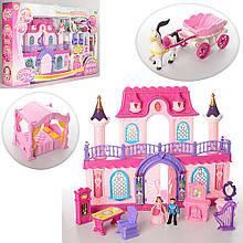 Кукольный домик с мебелью 16338 С, карета