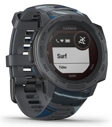 Смарт-годинник Garmin Instinct Solar – Surf Edition Pipeline