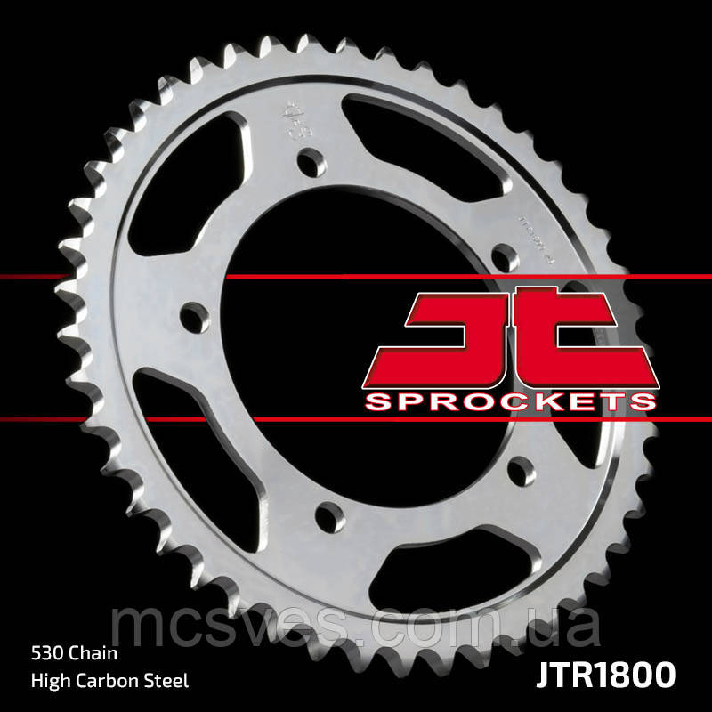 Звезда задняя стальная  JT JTR1800.40 JT Sprockets