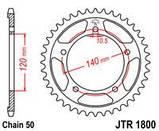 Звезда задняя стальная  JT JTR1800.40 JT Sprockets, фото 2