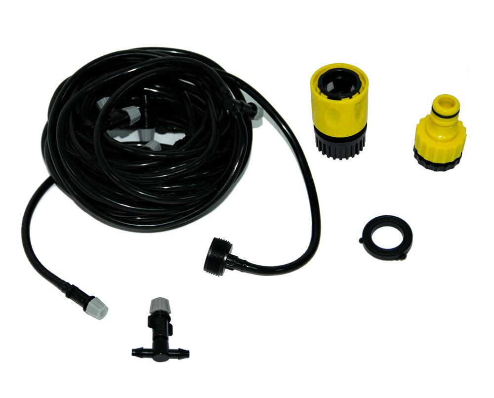 Cистема тумана для охлаждения беседок Patio Mist Cooling kit 9.6 м туманообразование (GK)