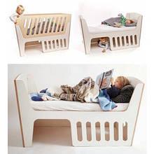 Детская кроватка для новорожденного ДКН 44