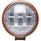 Фара LED круглая 30 W +  светящееся LED кольцо. Гарантия! От 2-х штук цена ниже!, фото 2