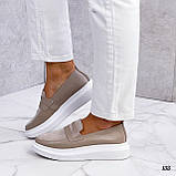 Стильные женские туфли лоферы, фото 5