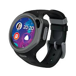 Детские смарт-часы Elari KidPhone 4G Round Black (KP-4GRD-B)