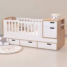 Детская кровать для новорожденных 3 в 1 ДМ 519