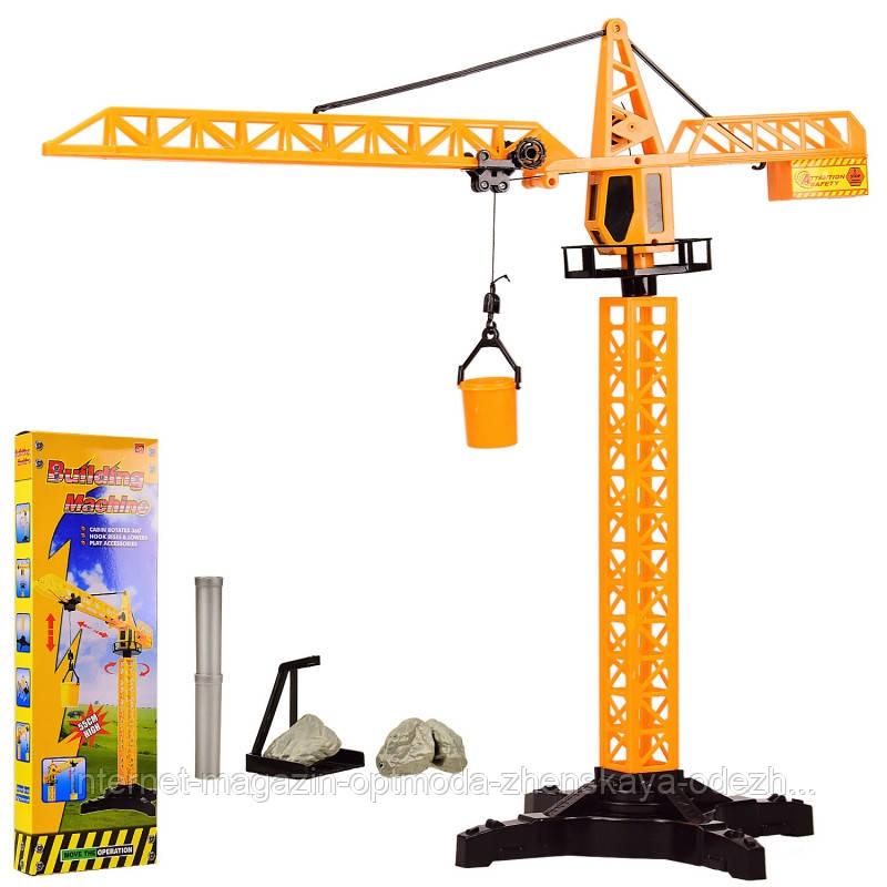 Захоплююча дитяча іграшка «Підйомний кран механічний»
