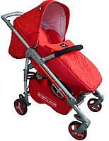 Коляска прогулочная Carita BabyLux ruby (красный)