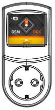GSM Розетка 1x1 одноканальная SMS управление