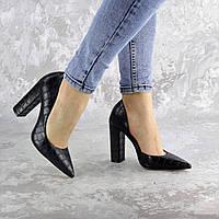 Туфли женские Fashion Soy 2464 39 размер 25 см Черный