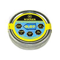 Пули Winner 4,5 0,57 350шт острые (металлическая банка)