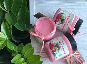 Скраб для тела Top Beauty банка 250 мл Raspberry-Coconut