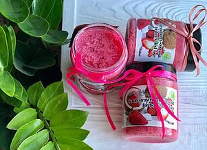Скраб для тела Top Beauty банка 250 мл Strawberry-Coconut