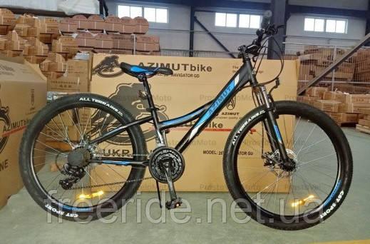 Подростковый Велосипед Azimut Navigator 24 G-FR/D (14)