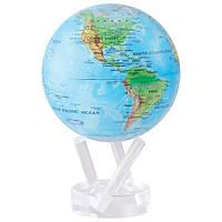 """Гіро-глобус Solar Globe """"Фізична карта Світу"""" 15,3 см (MG-6-RBE), фото 1"""