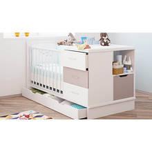 Кроватка для новорожденного ребенка с комодом КНК 01