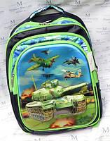 Рюкзак школьный Танки TB-1613 для мальчика