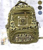 Рюкзак школьный брезентовый BabyFish 69629
