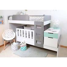 Детская двухъярусная кровать для двоих детей ДМ 71