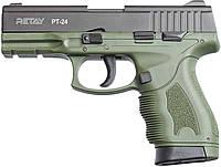 Пистолет стартовый Retay PT24 9мм. Цвет - olive