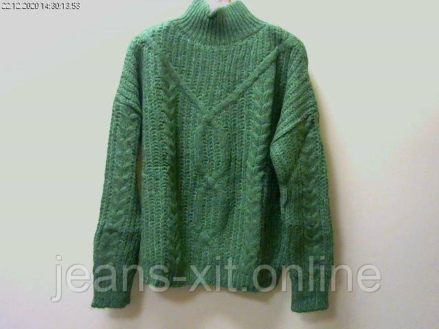 Свитер женский 1(р) зеленый 6171 Mixray Турция Зима-C